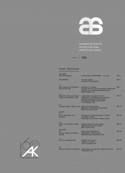 RHA_SCHWEIZER ARCHITEKTUR_COVER_1504
